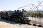Old Steam Locomotive Train in White Pass British Columbia