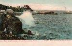 Marblehead Neck Surf Vintage Massachusetts Postcard