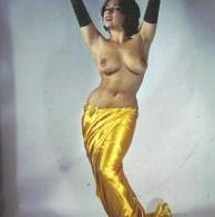 Vintage nude, in color with awesome curves