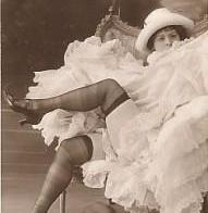 Cabaret Dancer from Bal Tabarin