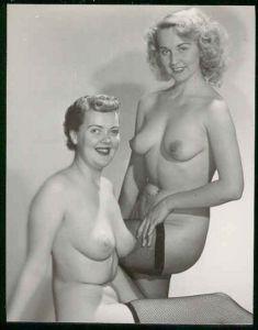 Vintage nude duo