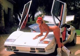 Classic Car babe
