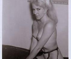 Blonde movie star