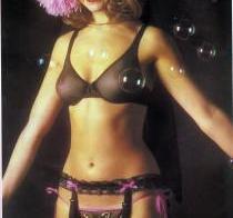 Vintage sheer lingerie