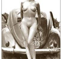 Nude and vintage VW Bug