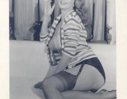 Vintage topless BBW