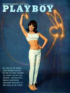 Playboy Cover July 1965