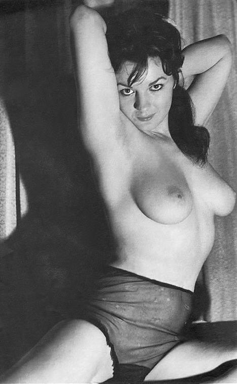 Glenda Graham - Vintage Nudie Model - Vintage Nude-7464