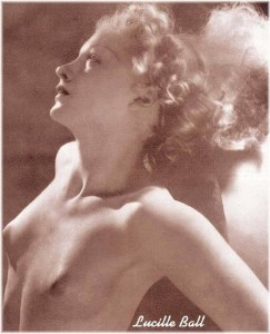 Lucille Ball Topless