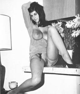 Vintage Model with Big Tits