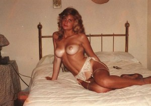 Amateur waiting in bed
