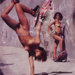 80s Nude Skaters