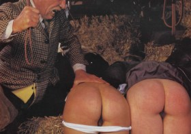 Erotica punished in the barn