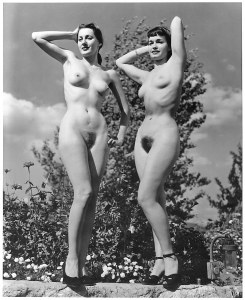 Dolores Del Monte in Spider Pool with Bettie Page