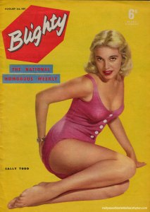 Cover of Blighty Magazine, Aug 1957