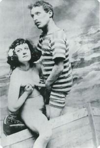 Vintage french prostitute