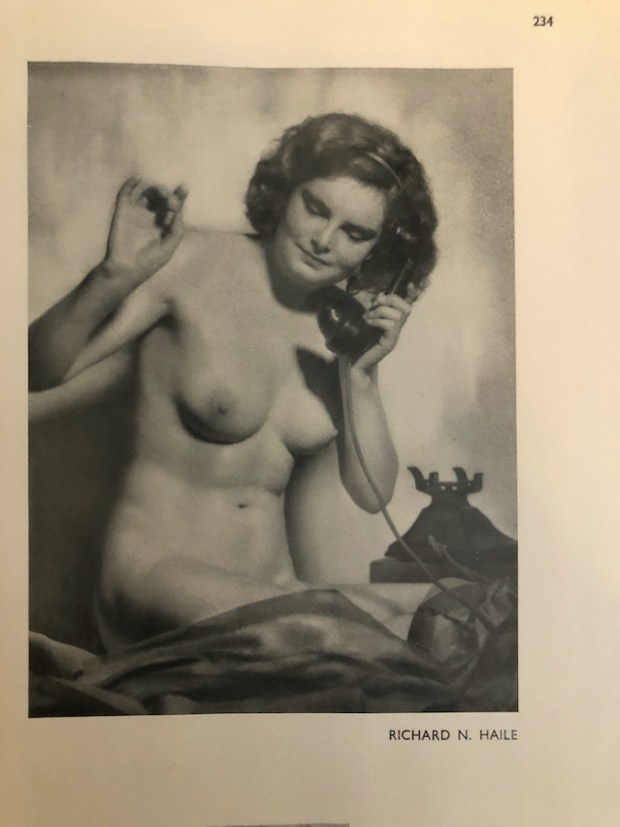 Vintage Nude photo by Richard N. Haile