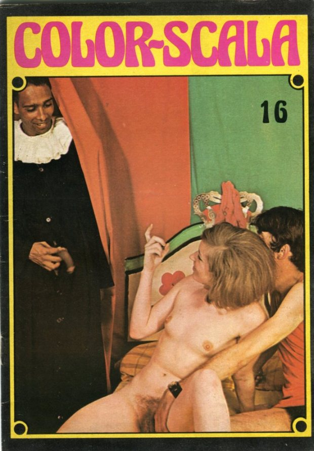Color Scala No 16 - vintage inter racial sex