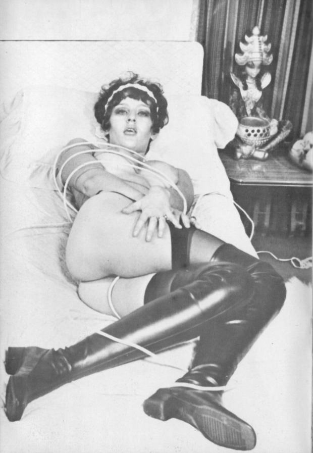 Vintage French Maid in Bondage