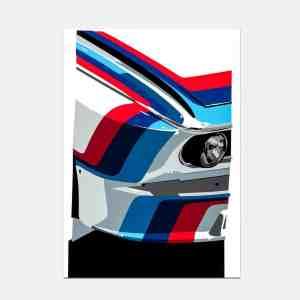 BMW_M_CSL_art_print_joel_clark