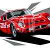 Ferrari-GTO-joel-clark-art-schilderij