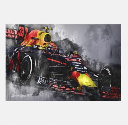 Max-Verstappen-001-formula-1-wall-art-canvas-RB13