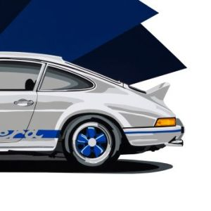 Porsche-911-RS-joel-clark-art