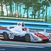 Porsche 936 LeMans 1976 Origineel 90x70