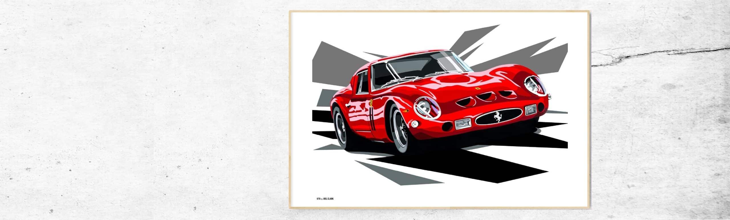 ferrari-enzo-GTO-250-kunst-schilderij