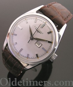 1950s steel vintage Longines watch (1088)