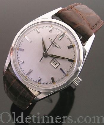 1950s steel vintage Longines watch (1088)