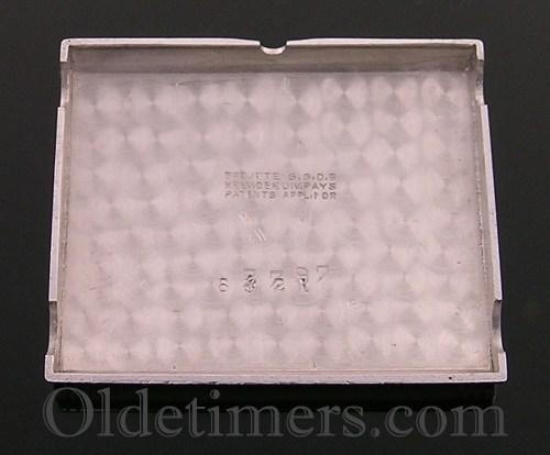 1930s steel vintage Jaeger LeCoultre Reverso watch (3727)