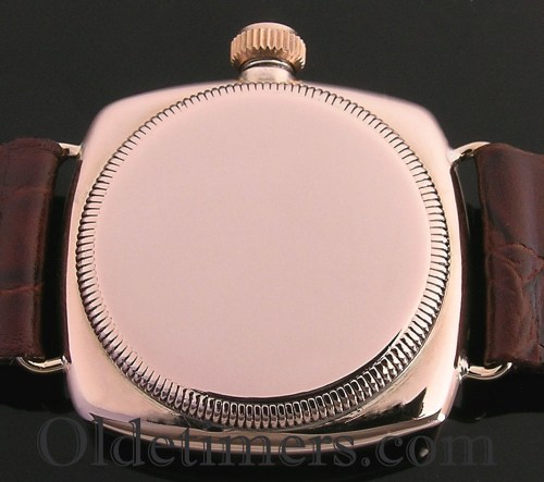 1920s 9ct rose gold vintage Rolex Oyster watch (3742)