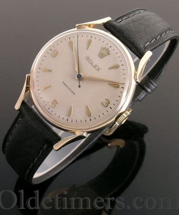 1950s 9ct gold vintage Rolex Precision watch