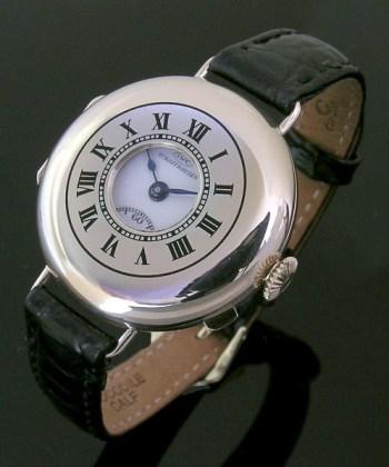 1911 9ct rose gold vintage half-hunter International Watch Company (I.W.C.) watch