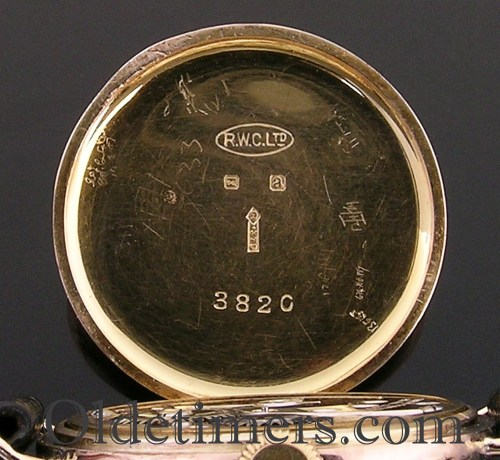 1920s 9ct gold round vintage Rolex watch (3744)