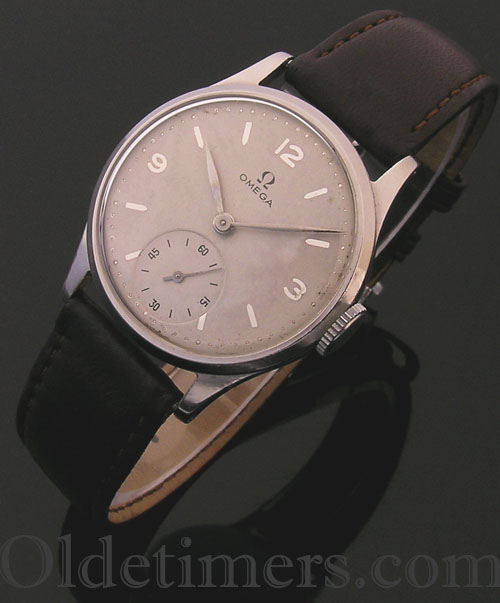 1950s steel round vintage Omega watch (2233)