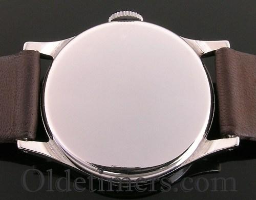 1950s steel round vintage Omega watch (2233)