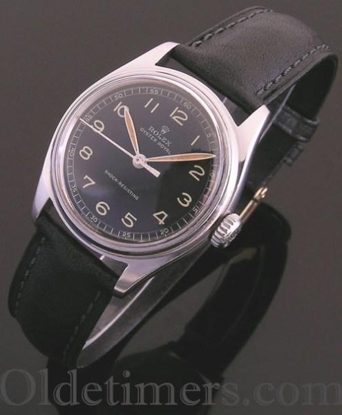 1940s steel vintage Rolex Oyster watch