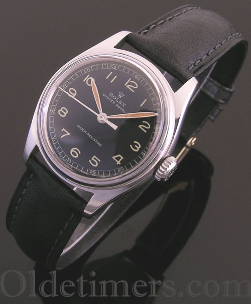 1940s steel vintage Rolex Oyster watch (2322)