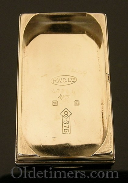 1930 two-colour gold vintage Rolex Prince watch