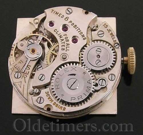 1920s 9ct gold square vintage Rolex watch