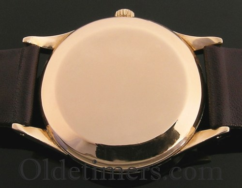 1960s 18ct gold round vintage I.W.C. watch