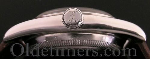 1940s steel vintage Rolex Oyster 'Bubbleback' watch