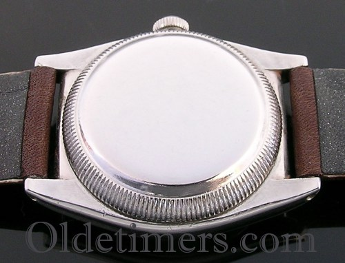 1930s steel vintage Rolex Oyster Bubbleback watch