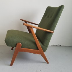 Vintage fauteuil fifties