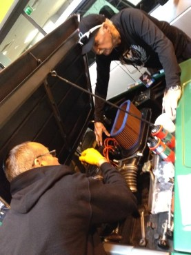 Rod helps out Wheeler Dealer's Paul Brackley