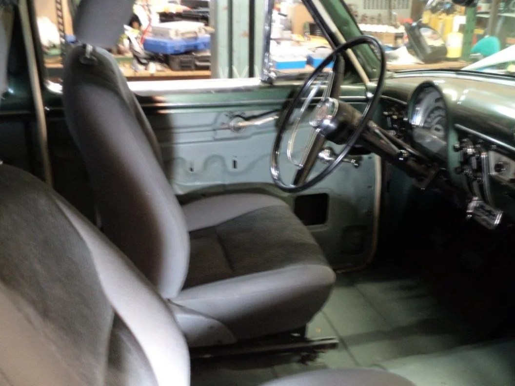 Seats fitted and tested
