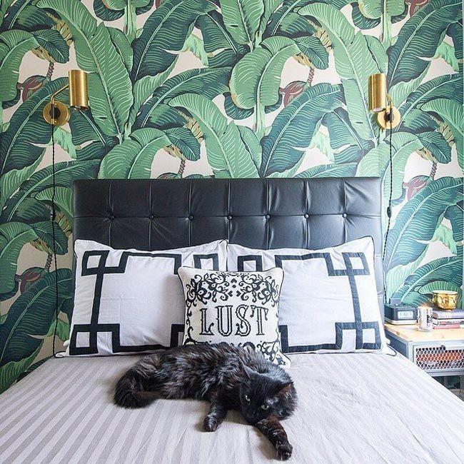 Convierte Tu Casa En Un Jardn Tropical Con Papel Pintado