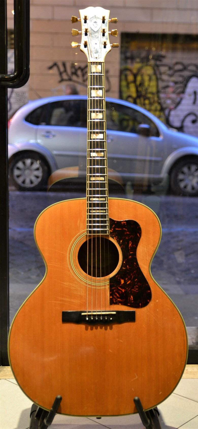 guild f 50 1964 natural guitar for sale rome vintage guitars